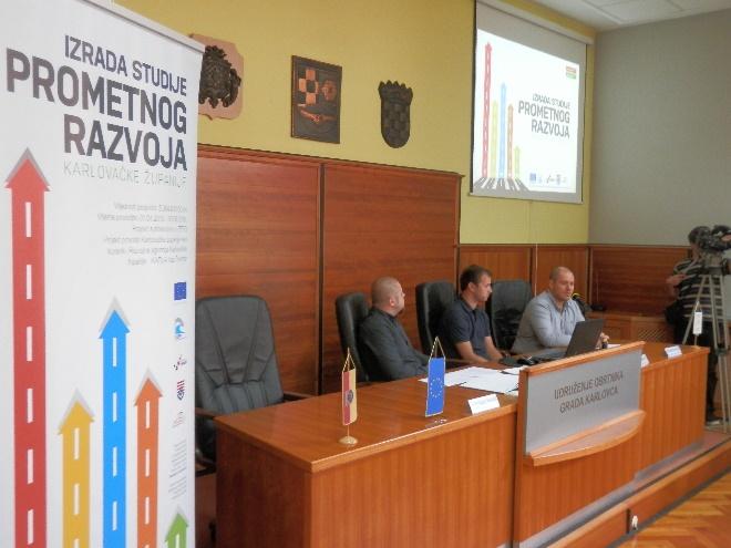 Izrada Studije prometnog razvoja Karlovačke županije – izrađen i objavljen 2.projektni newsletter