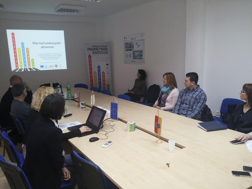 Komunikacijski plan i vizualni identitet Studije prometnog razvoja Karlovačke županije