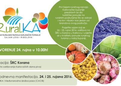 RuralKA, sajam ruralnog razvoja Karlovačke županije