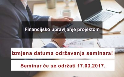 Seminar Financijsko upravljanje projektom