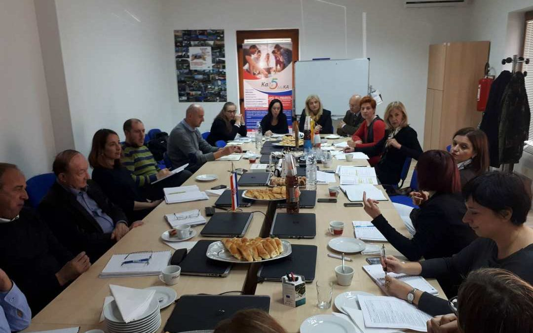 Održan sastanak koordinacije razvojnih agencija svjerozapadne Hrvatske