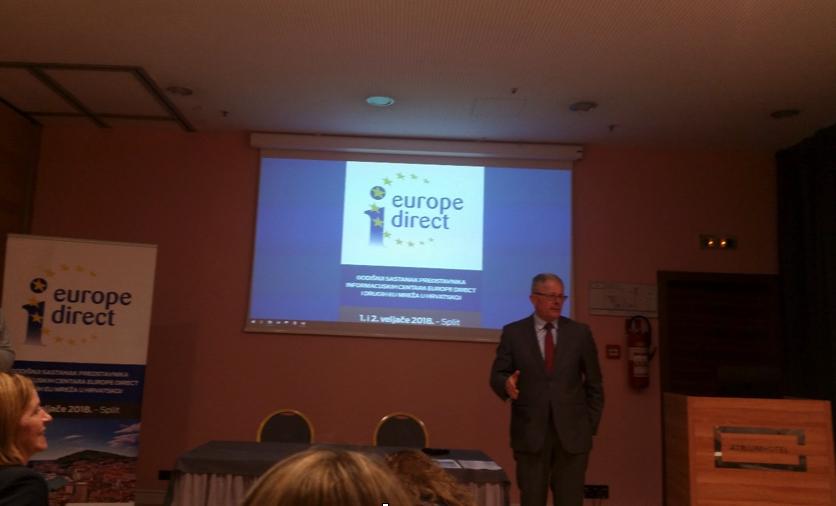 Sudjelovanje na godišnjem sastanku predstavnika EDIC centara i drugih EU mreža u RH