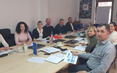 Razvojna agencija organizirala radni sastanak tima za pripremu projektnog prijedloga Regionalnih centara kompetentnosti u strukovnom obrazovanju