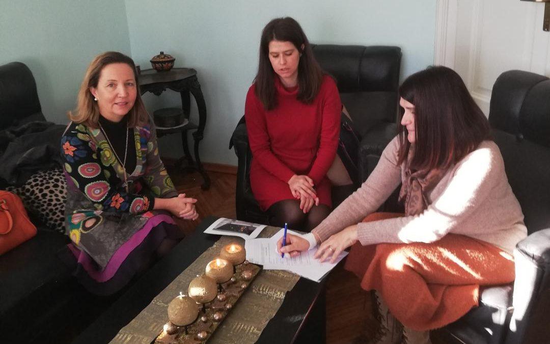 Održan sastanak sa Gimnazijom Karlovac partnerom u projektu CO – GROWTH