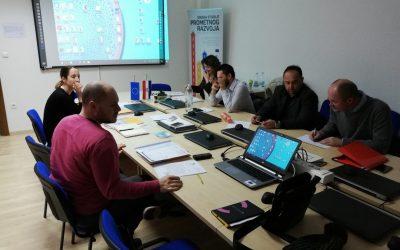 Održan tjedni sastanak tima za pripremu projektnog prijedloga Regionalnih centara kompetentnosti u strukovnom obrazovanju