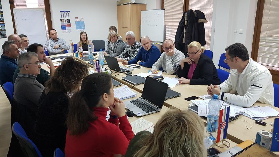 Održan radni sastanak tima za pripremu projektnih prijedloga regionalnih centara kompetentnosti sa suradnicima u provedbi