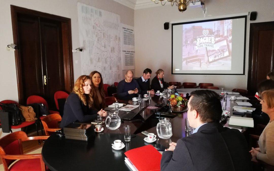 Prezentacija nagrađenog projekta Zagreb Time Travel
