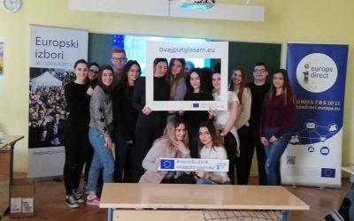 Poticanje mladih na izlazak na izbore za Europski parlament kroz kampanju EU&ME