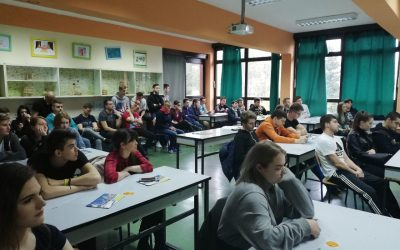 Održana prezentacija u Šumarsko i drvodjeljskoj školi u Karlovcu – EU izbori i EU&ME kampanja
