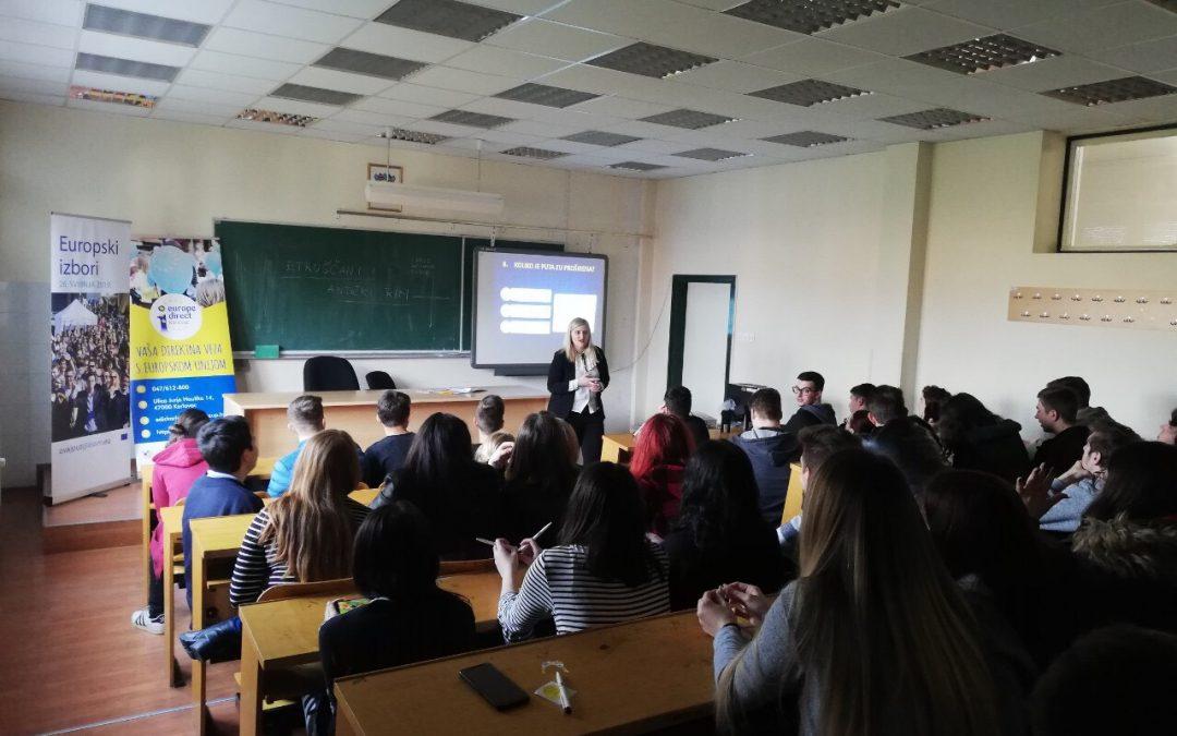 EDIC Karlovac održao prezentaciju u Srednjoj školi Duga resa