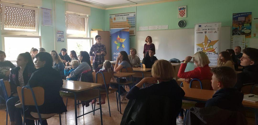 P.s.-Pokreni se-promocija deficitarnih zanimanja u OŠ Barilović
