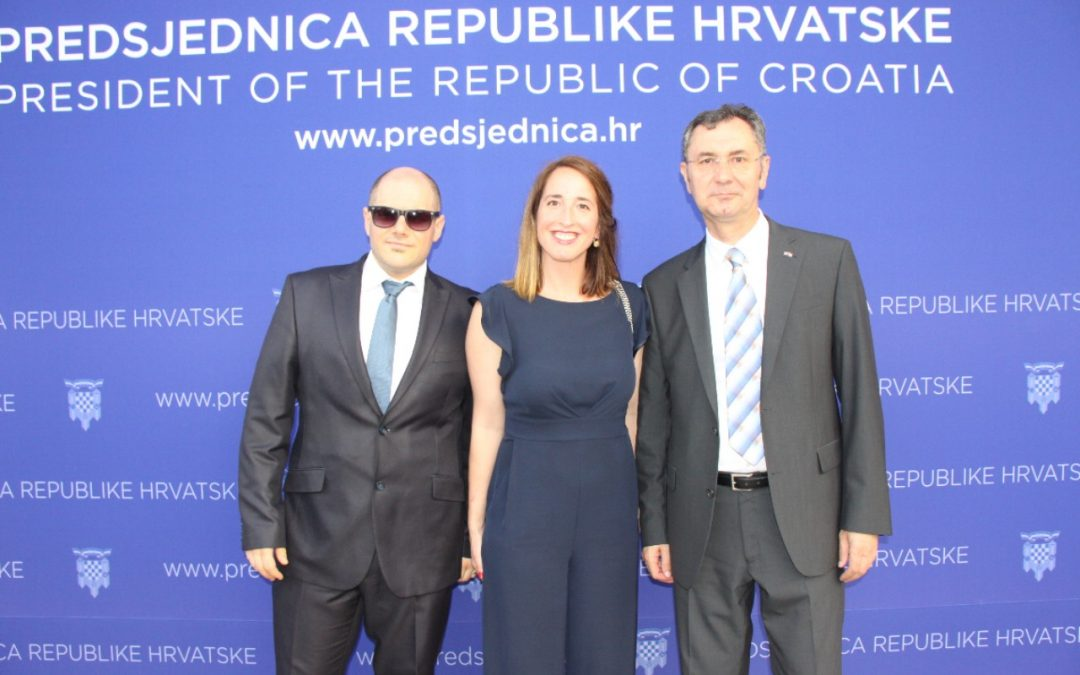 Razvojna agencija Karlovačke županije na proslavi Dana državnosti u uredu Predsjednice Kolinde Grabar-Kitarović