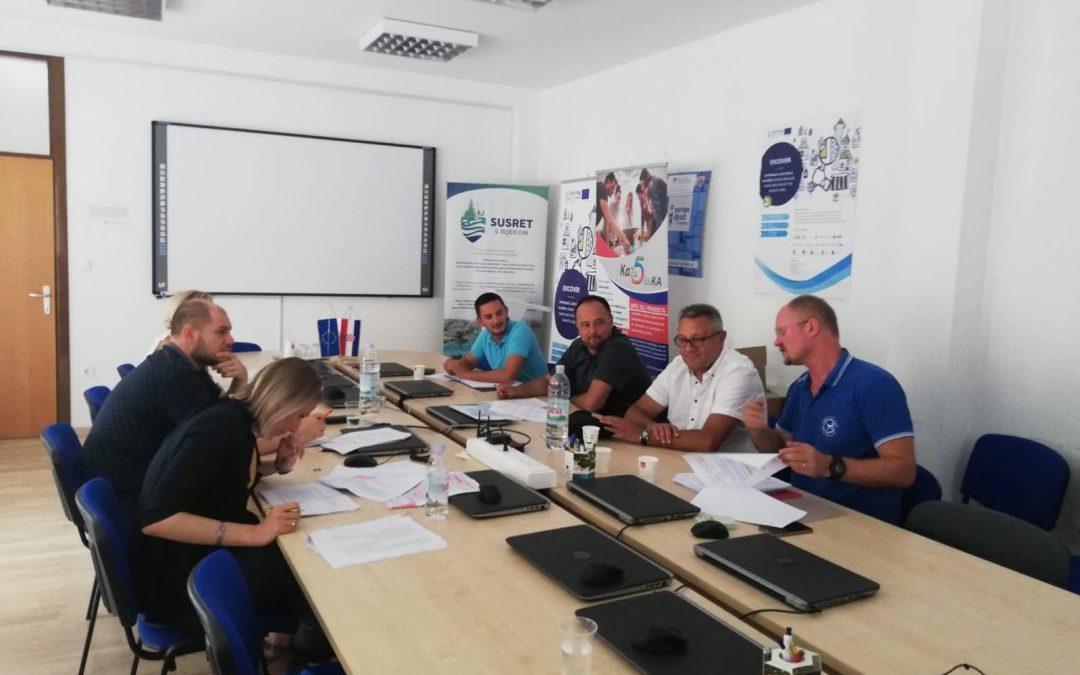 Održani sastanci pripreme projekata za Uspostavu regionalnih centara kompetentnosti u sektorima strojarstva, elektrotehnike te turizma i ugostiteljstva