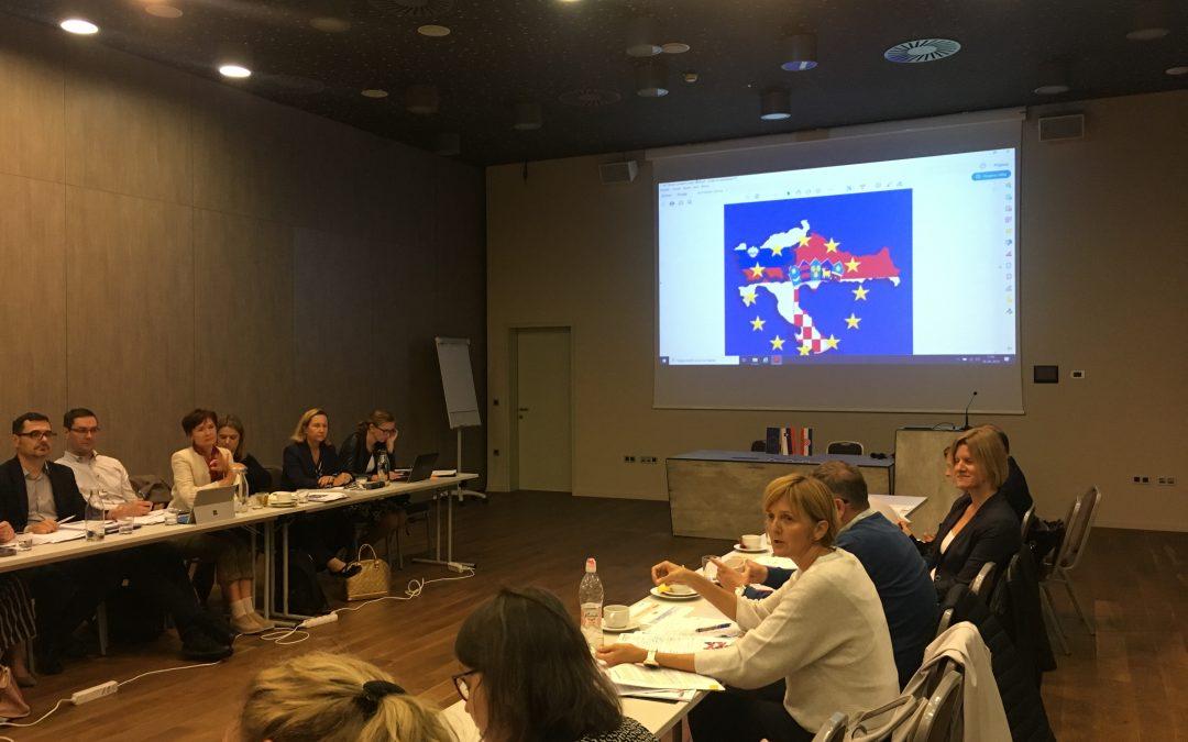 1. Sastanak radne skupine Programa Interreg Slo – Hr 2021 – 2027