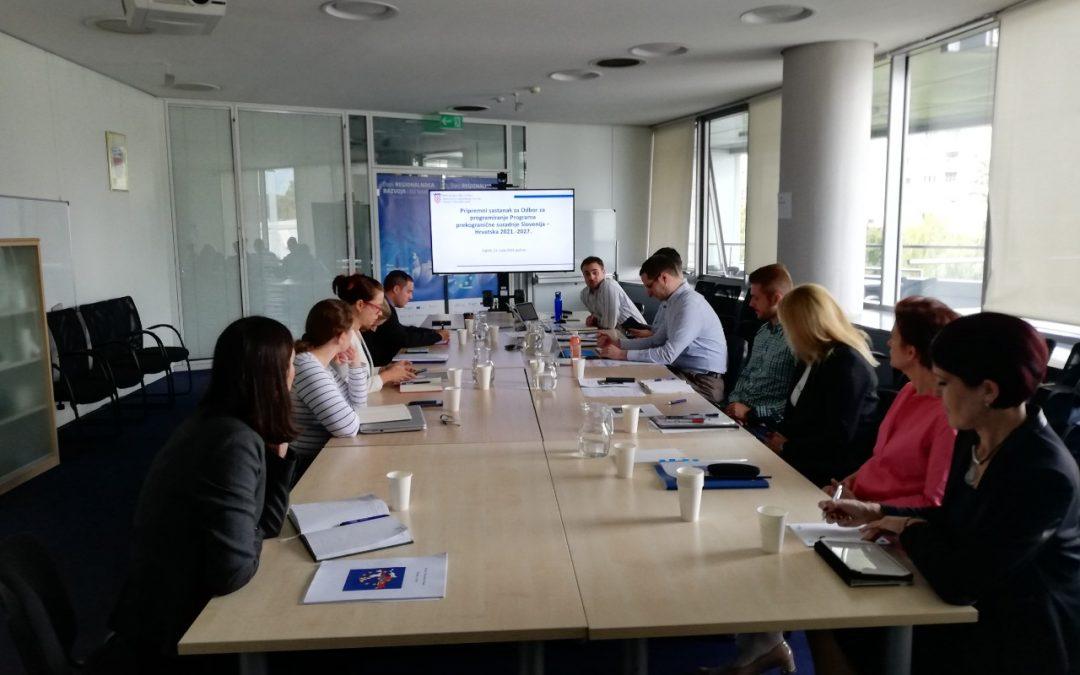 Pripremni sastanak Odbora za prekogranične suradnje Interreg Slovenija-Hrvatska 2021-2027
