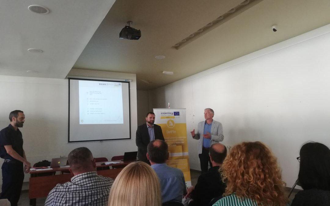 Regionalni sastanak dionika na području društvenog poduzetništva u sklopu provedbe projekta DelFin – Interreg Central Europe