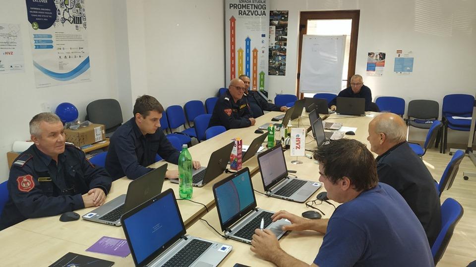 Vatrogasna zajednica Karlovačke županije provodi edukaciju u našim prostorijama