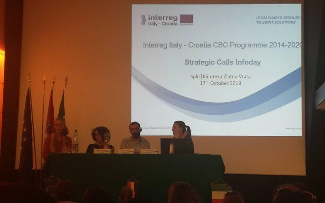 Info dani Interreg V-A IT-HR CBC Programme – Strateški poziv
