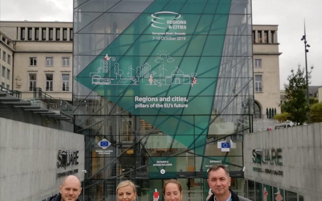 Razvojna agencija na Europskom tjednu regija i gradova u Briselu