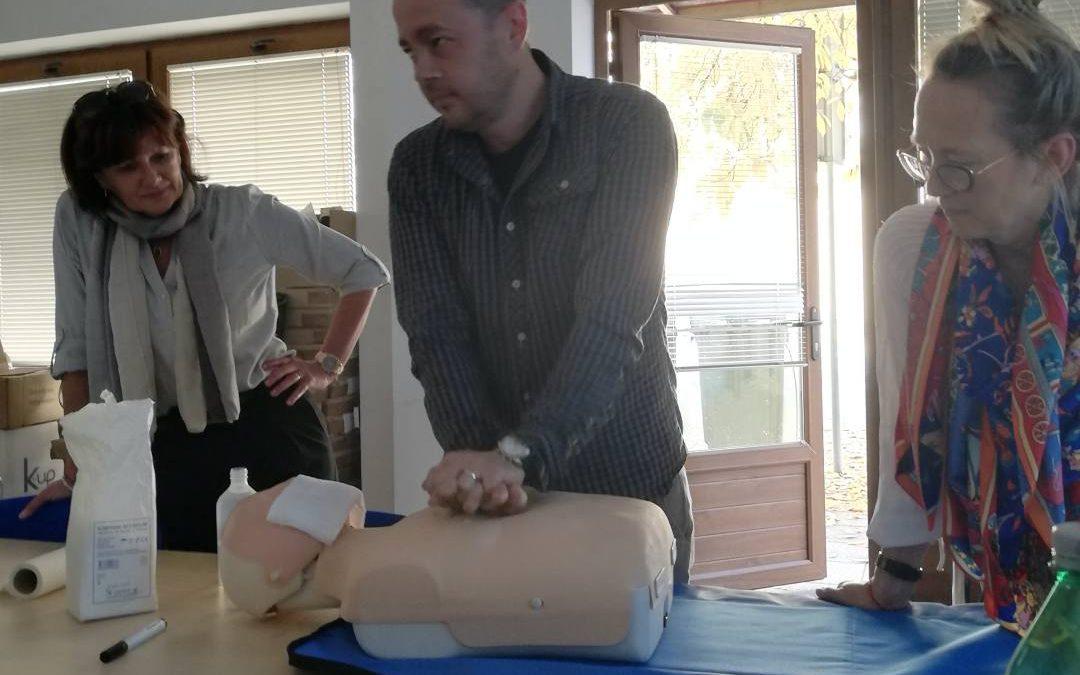 Osposobljavanje za pružanje prve pomoći na radnom mjestu