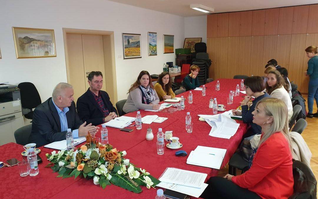 Koordinacijski sastanak Jedinice za Intervencijski plan Grada Slunja i pridruženih općina u Općini Krnjak