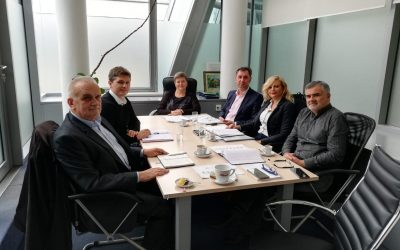 Radni sastanak kod pomoćnice Mišković