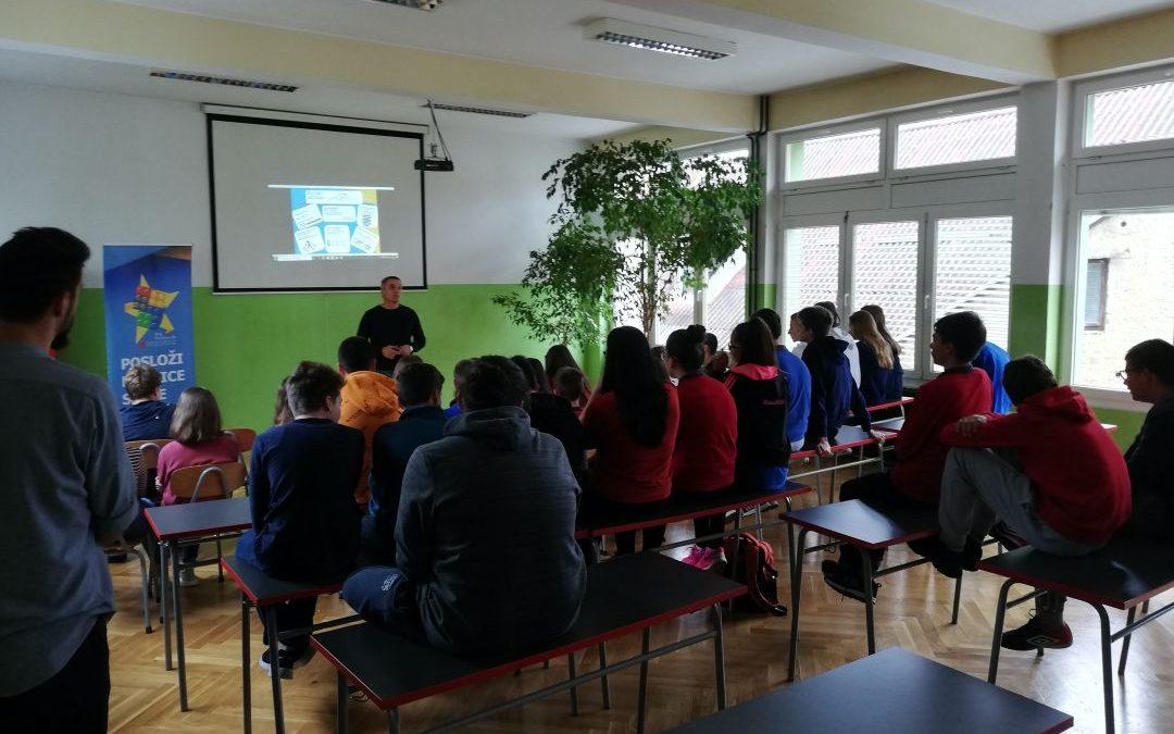 P.S. – pokreni se – promocija deficitarnih zanimanja u OŠ I.G. Kovačić (Duga Resa)