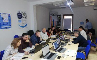 Radionica unosa projekata u GIS sustav Karlovačke županije za članove Jedinice za IP