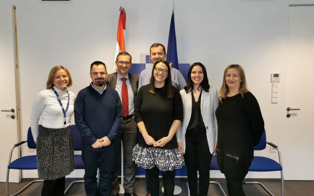 SASTANAK U PREDSTAVNIŠTVU EUROPSKE KOMISIJE U ZAGREBU