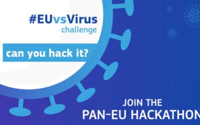 Prijavite se na panEU Hackathon #EUvsVirus – produžen rok za prijavu