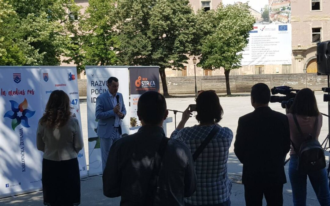 """Održana početna konferencija predstavljanja projekta """"RCK – STRuKA"""""""