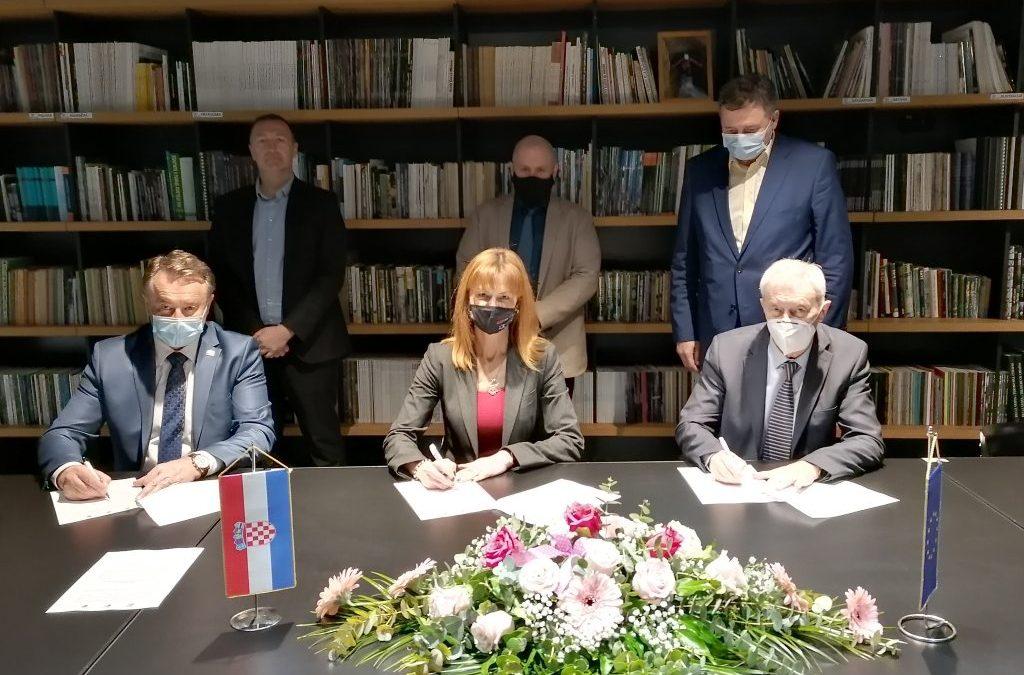 Održan sastanak sa Ravnateljima Regionalnih razvojnih agencija Zagrebačke i Sisačko-moslavačke županije, na temu Razvojnog sporazuma tri Županije