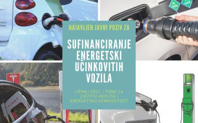Otvoren Program sufinanciranja energetski učinkovitih vozila