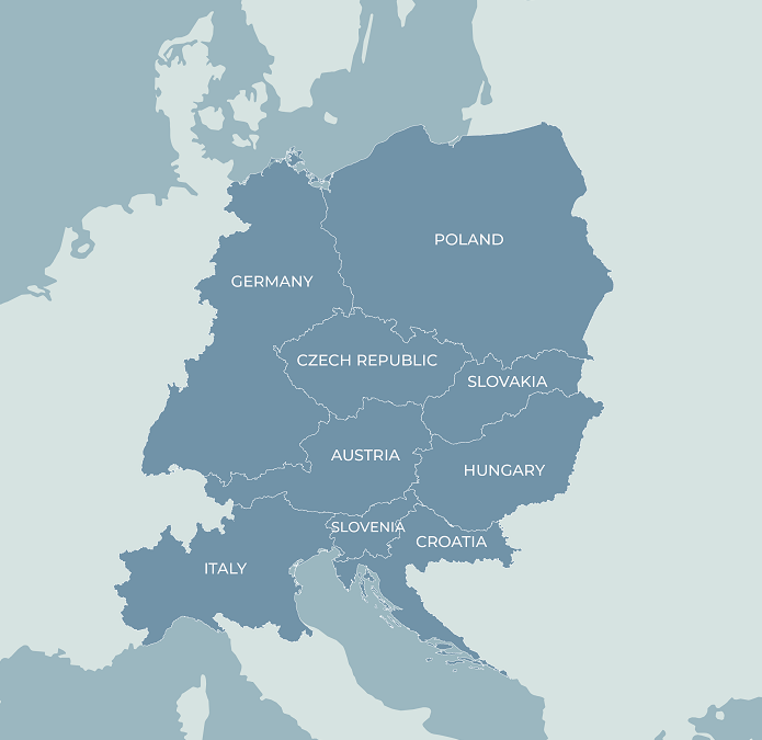 Interreg CENTRAL EUROPE – NAJAVLJENO JE RASPISIVANJE PRVOG POZIVA U LISTOPADU 2021