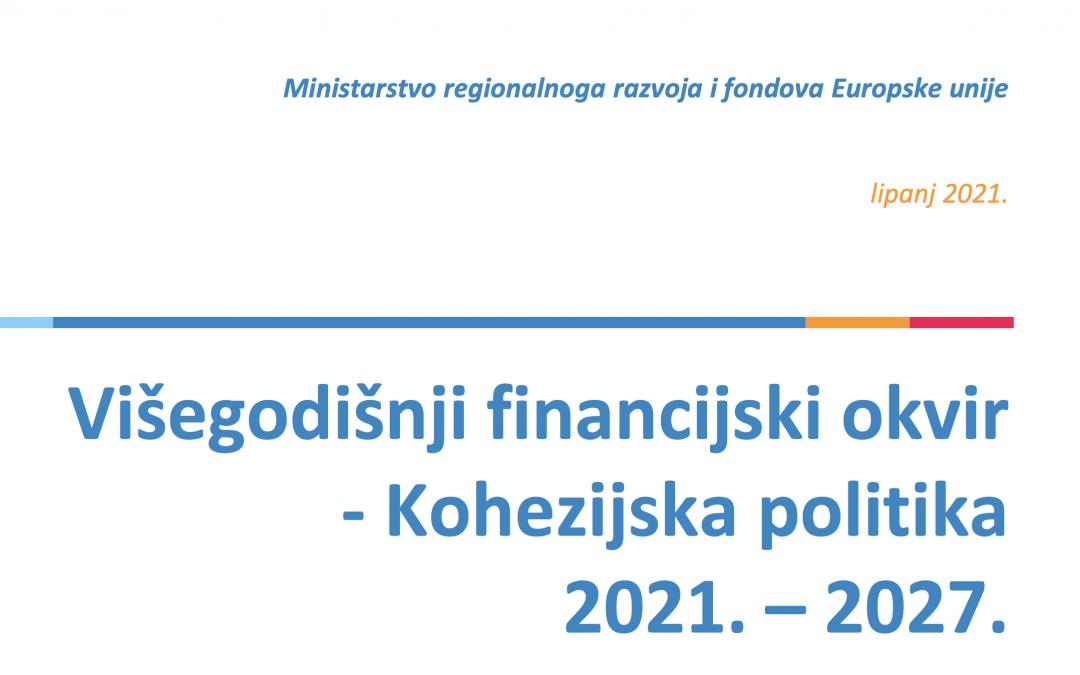 Prvi nacrti Sporazuma o partnerstvu OPKK i ITP 2021. – 2027. poslani Europskoj komisiji