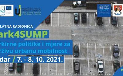 Besplatna stručna radionica o parkirnoj politici i upravljanju parkirnim mjerama